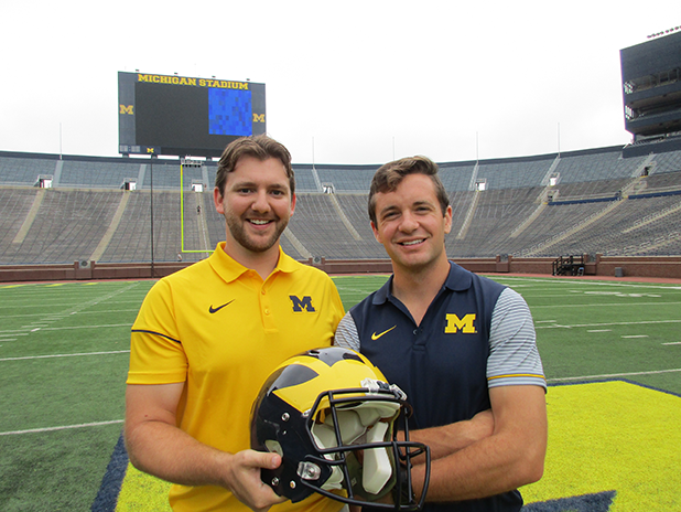 Kevin and I at the Big House