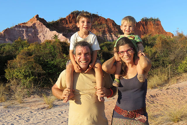 Global research with Tasha Rijke-Epstein and her family.