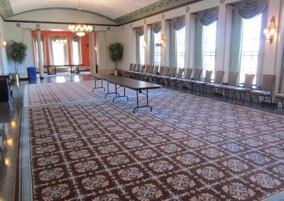 Assembly Hall Reception Setup
