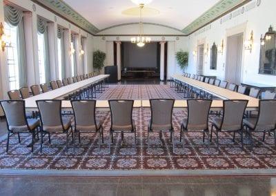 Assembly Hall U Shape Setup
