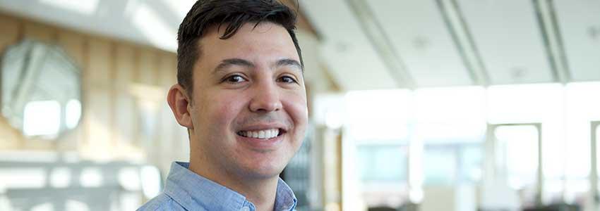 Student Spotlight: Gustavo Serratos