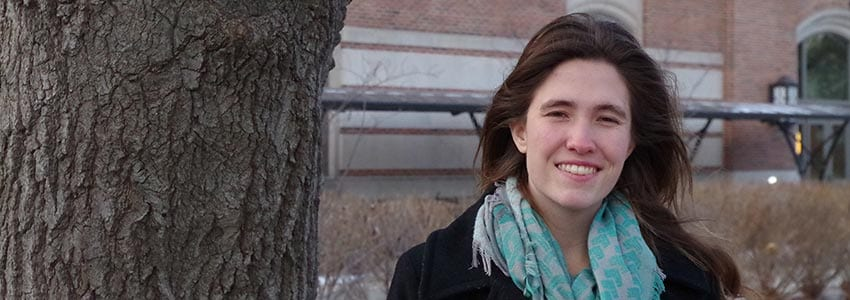 Student Spotlight: Rachel Cawkwell