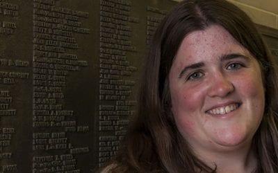 Student Spotlight: Sarah Suhadolnik