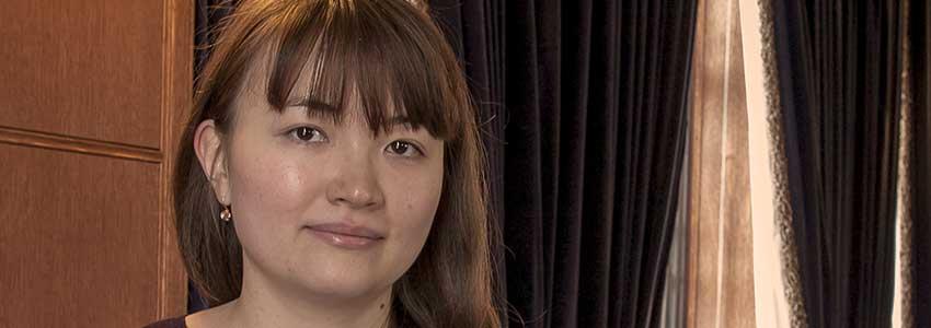 Student Spotlight: Zhibek Kadyrsizova