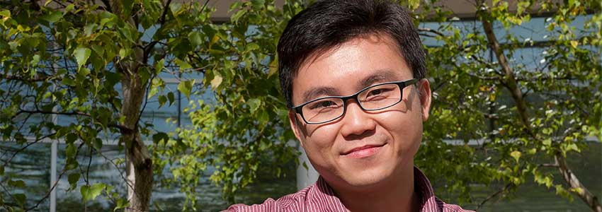 Student Spotlight: Zhuobin Liang