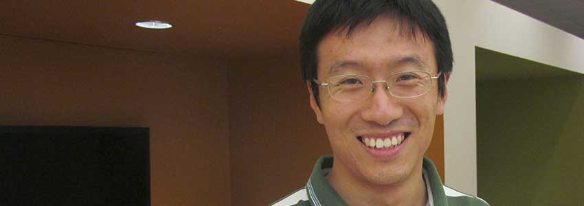 Student Spotlight: Zuowei Wang