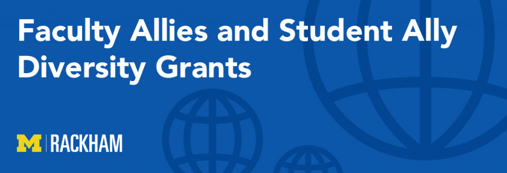 Faculty Allies and Student Ally Diversity Grants graphic