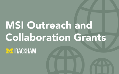 Announcing 2019–2020 MSI Outreach and Collaboration Grant Competitions