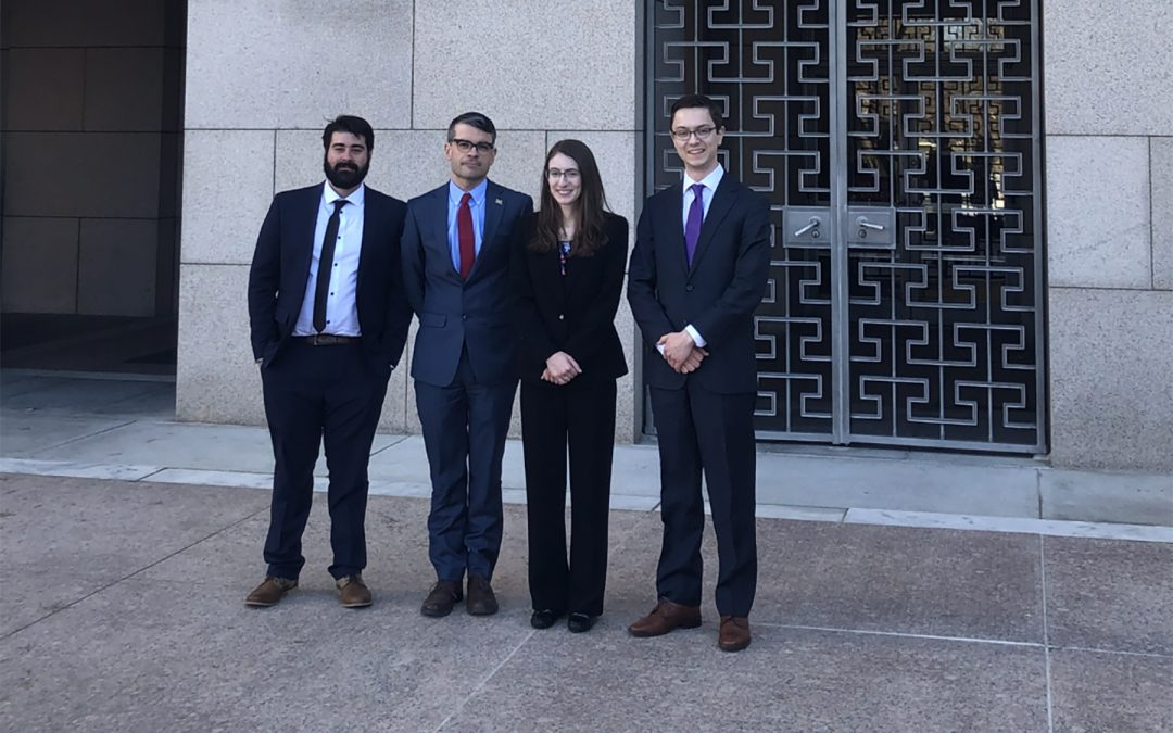 Rackham Students Make Their CASE in Washington