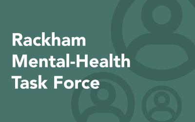 Rackham Launches Task Force on Graduate-Student Mental Health
