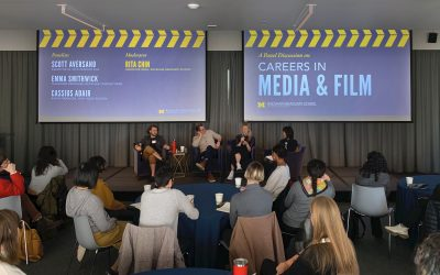 Rackham Students Explore Film and Media Careers
