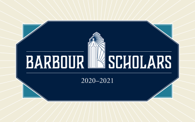 Announcing the 2020-2021 Barbour Scholars