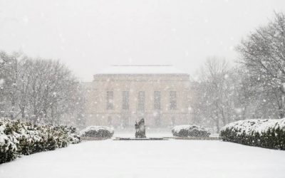 A Campus in Winter