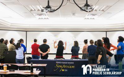 Rackham Program in Public Scholarship Marks 10 Years