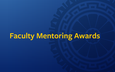 Announcing the Winners of the 2021 Faculty Mentoring Awards
